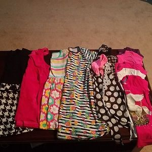 Lot of 13 girl's clothes